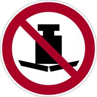 Verbotszeichen, Keine schwere Last P012 - ASR A1.3 (DIN EN ISO 7010)