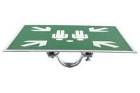 Verstärkerplatte für Sammelstellenschild