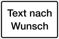 Hinweisschild, Aluminium: Rand geprägt - Grund: weiß, Schrift und Rand: schwarz